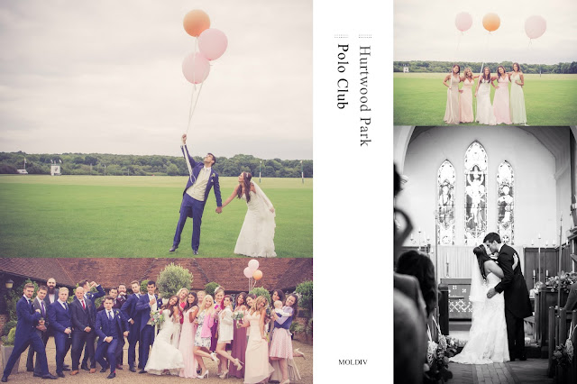 hurtwood park polo wedding