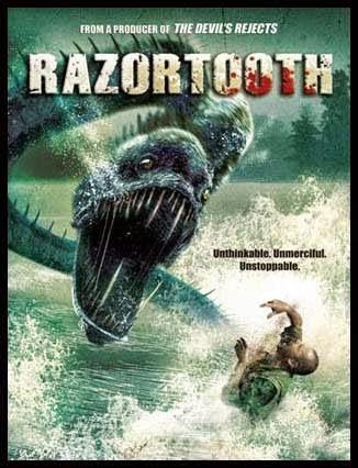 Razortooth (2007) Hindi Dubbed HDRip 480p 300MB Poster