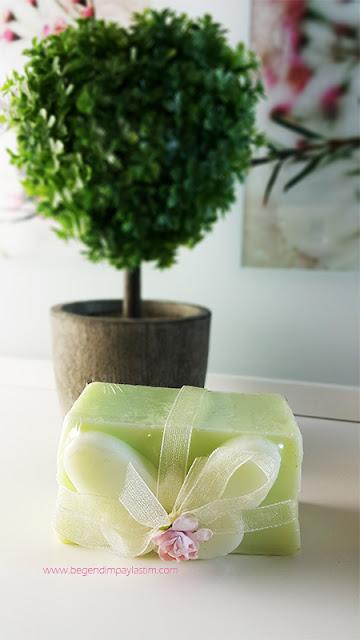 Organique Yeşil Kelebek Doğal sabun