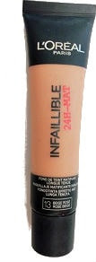 Maquillaje loreal infalible mate 24h