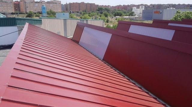 Montadores de techos tejados y fachadas panel madrid for Chapas para tejados precios