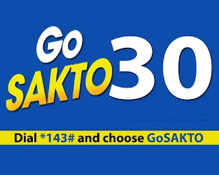 Globe GoSAKTO30 – Unli Calls, Text to all Networks Promo for 2 days