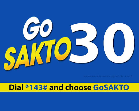 Globe GoSAKTO30 – Unli Calls, Text to all Networks Promo for 2 days - HowToQuick.Net