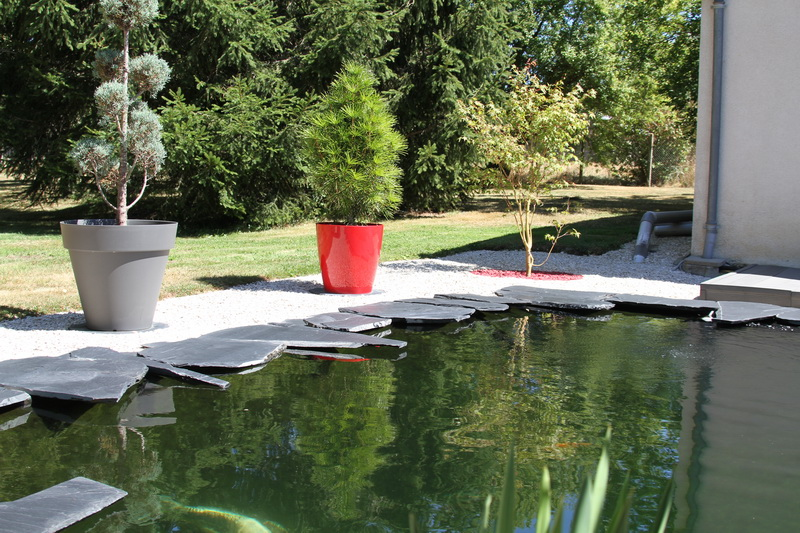 Aquatechnobel les photos des bassins 2 3 et 4 avec aquarev for Bassin de jardin d occasion