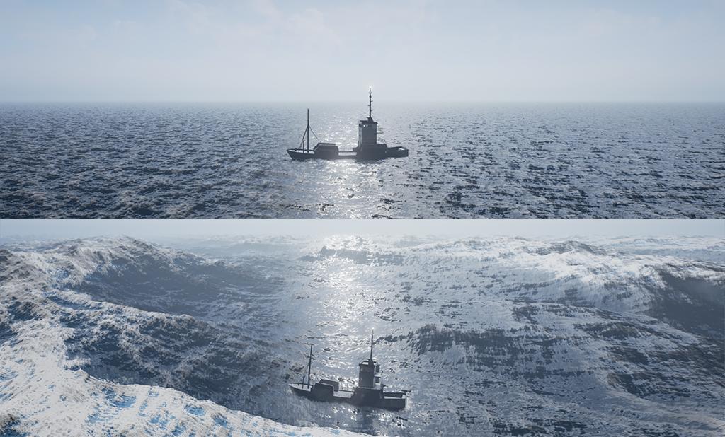 Nejc Lešek: Thousand ships with real-time buoyancy