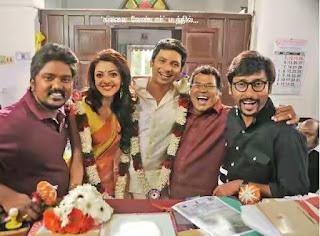 95918 Co FYbGVIAAYBMA - Kavalai Vendaam Movie Stills-Jeev,Kajal Agarwal Rare Images of this Movie