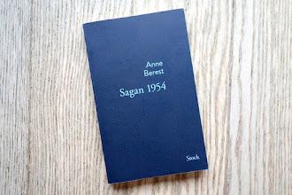 Lundi Librairie : Sagan 1954 - Anne Berest