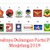 Hasil Survei LSI Denny JA: PDIP dan Gerindra Bersaing, PKS dan PAN Terancam Tak Lolos