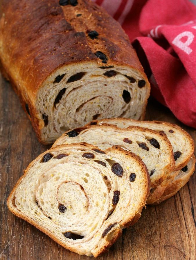 Cinnamon Raisin Struan Bread from Karen's Kitchen Stories