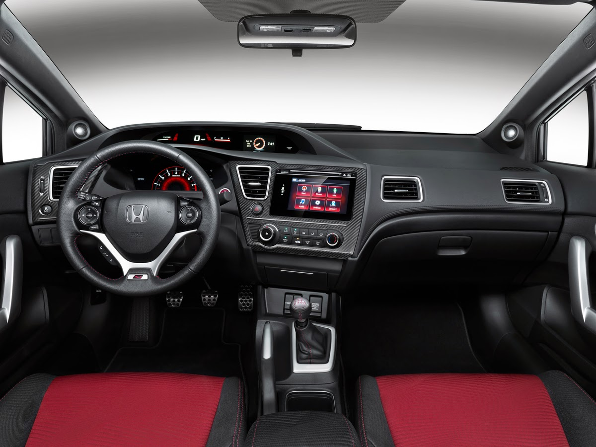 2014 Honda Civic Si interior
