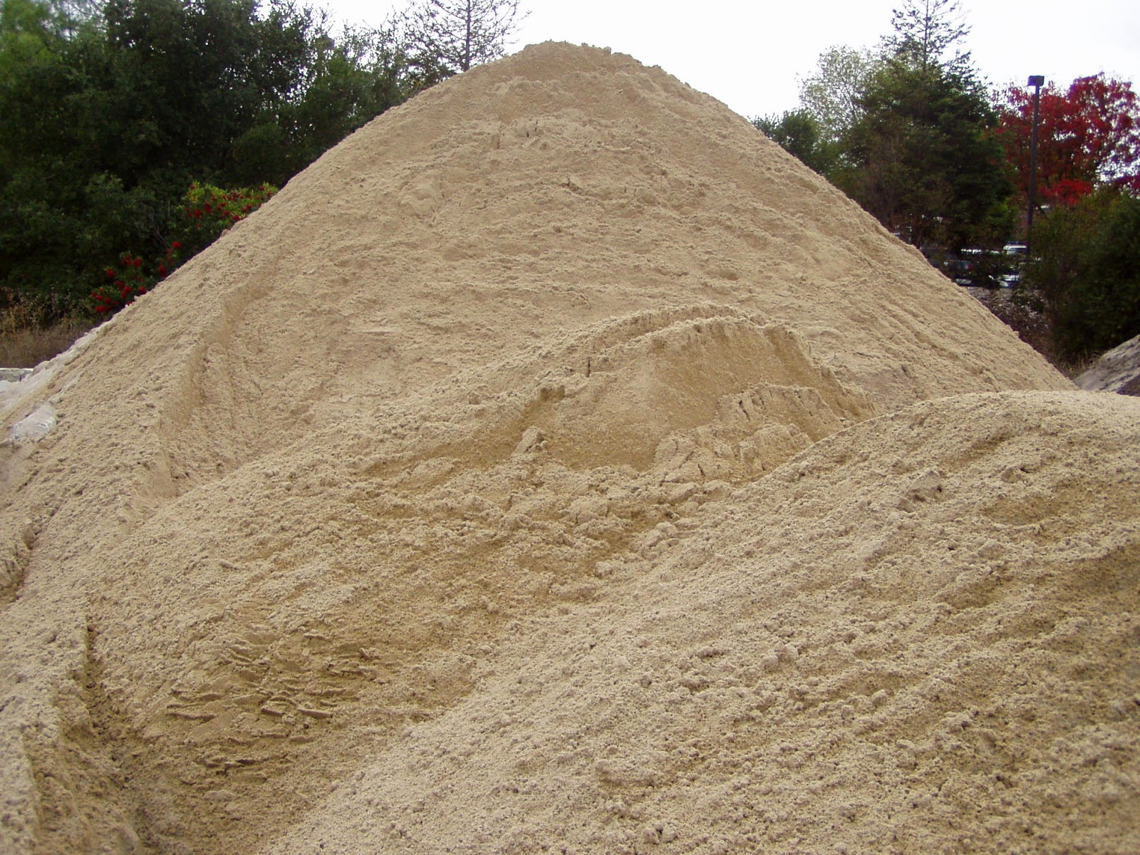 Figure 2: Heap of sand