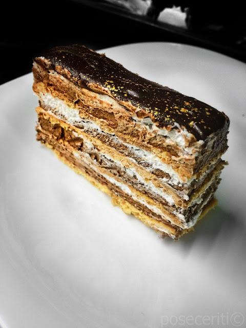 Čokoladna torta sa medenim koricama