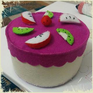 handmade toy cake