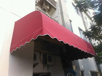 kanopi kain minimalis untuk rumah