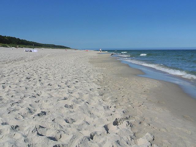 plaża, wakacje, wypoczynek Jurata