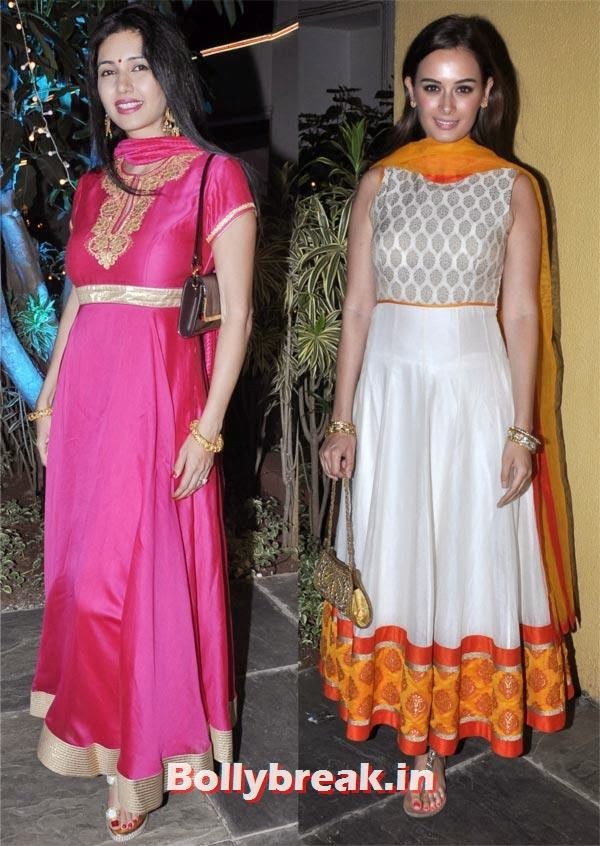 Deepti Bhatnagar and Evelyn Sharma, Sachiin Joshi and Urvashi Sharma's Diwali Party