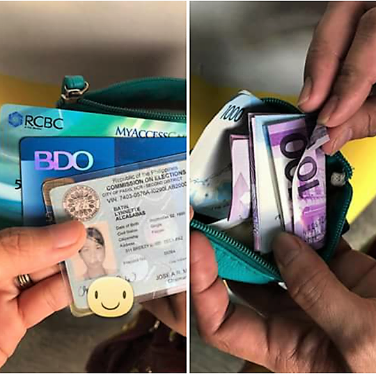 Online Good Samaritan trying to find owner of a lost wallet