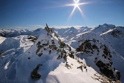 Randonnée raquettes neige Néouvielle Gourguet