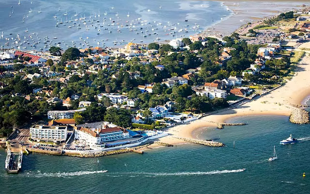 Aerial view of Poole, Dorset