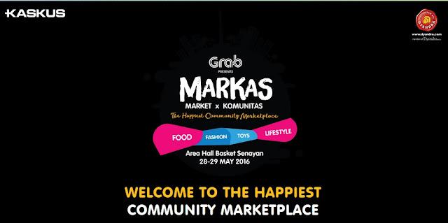 Event Kaskus terbaru MARKAS Market X Komunitas mei 2016