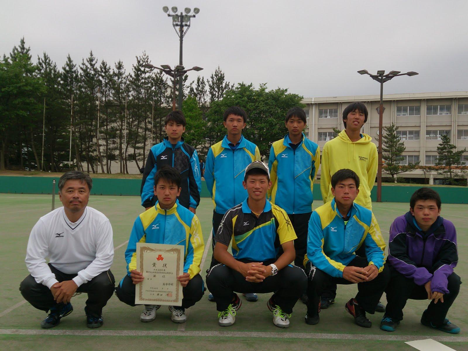羽黒高校 男子ソフトテニス部: 6月 2016