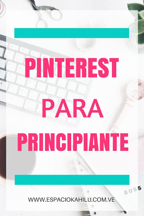 PINTEREST PARA PRINCIPINTE