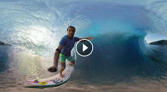 Anthony Walsh and Matahi Drollet POV in Tahiti