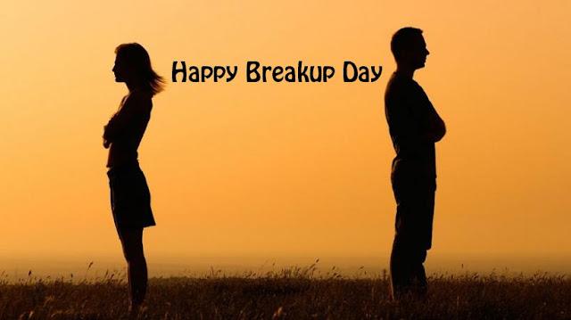 Breakup Day Good Morning Whatsapp Status DP