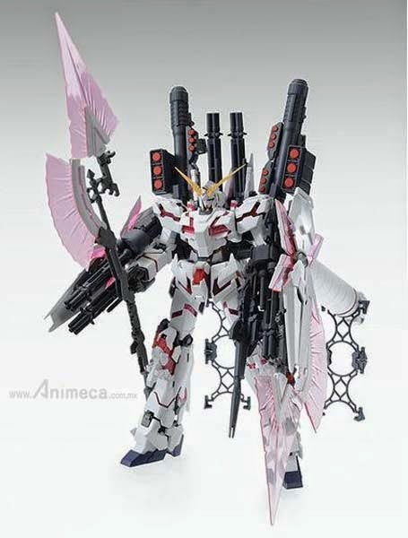 FULL ARMOR UNICORN GUNDAM RX-0 Red Color Ver. MASTER GRADE (MG) 1/100 MODEL KIT GUNDAM UNICORN