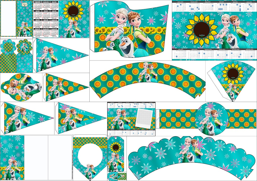 Frozen Fever Free Party Printables Oh My Fiesta In English