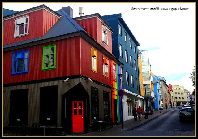 Reykjavik Iceland, colors of Reykjavik