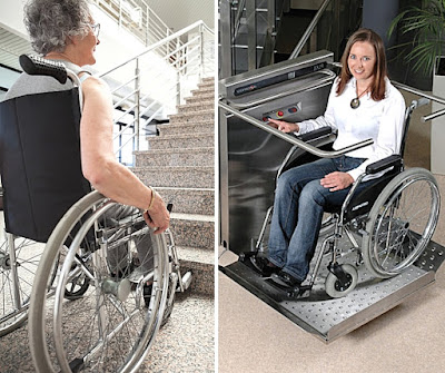 Skuteczną metodą likwidownia barier architektonicznych w urzędach jest montaż platformy schodowej.
