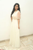 Megha Akash in beautiful Cream Transparent Anarkali Dress at Pre release function of Movie LIE ~ Celebrities Galleries 001.JPG