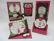 Aviary Cards & Owl Gift Box Stamp Class