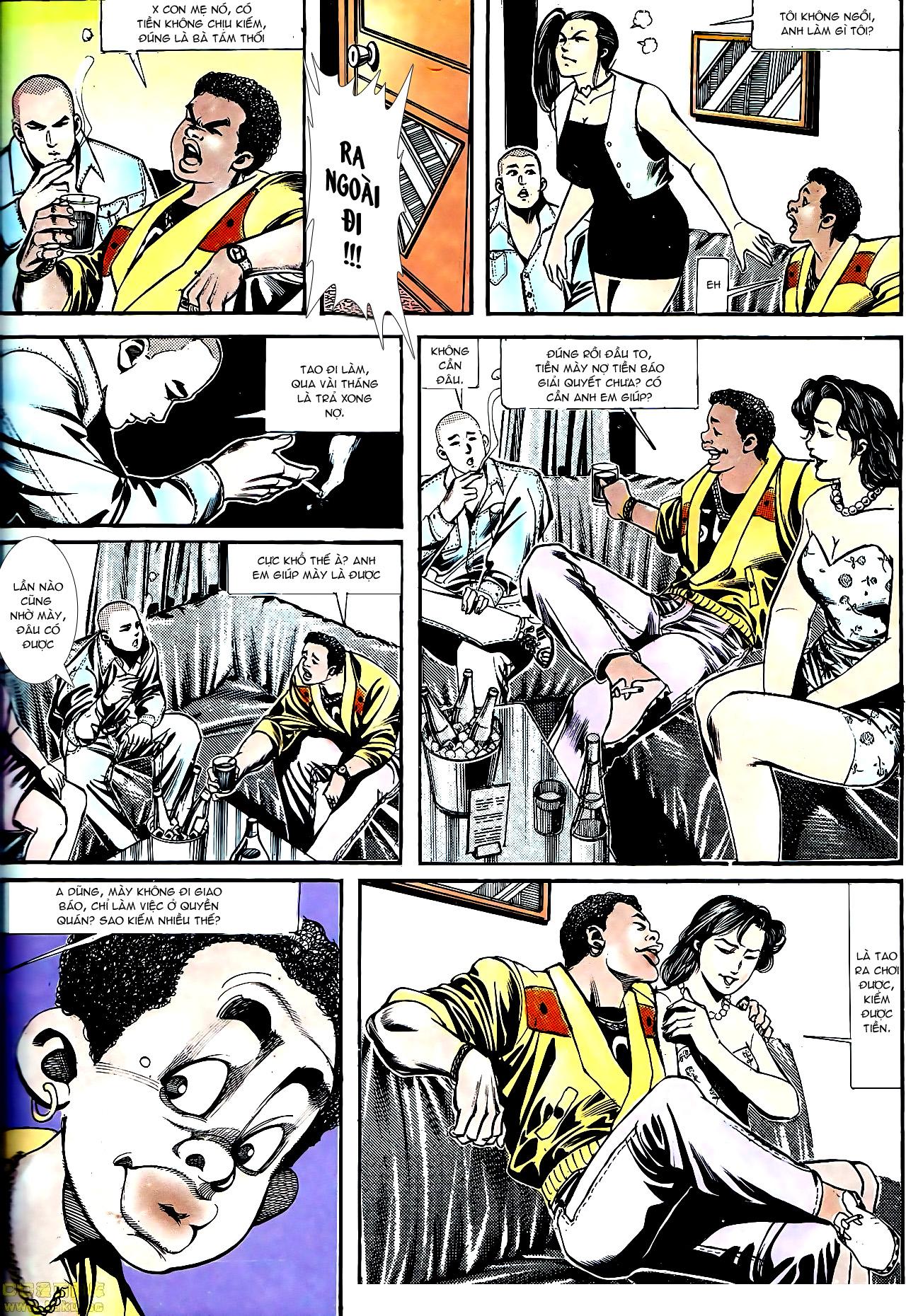 Người Trong Giang Hồ chapter 154: nam đẹp trai trang 23