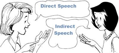 Perbedaan Kata Langsung dan tak langsung dalam bahasa inggris