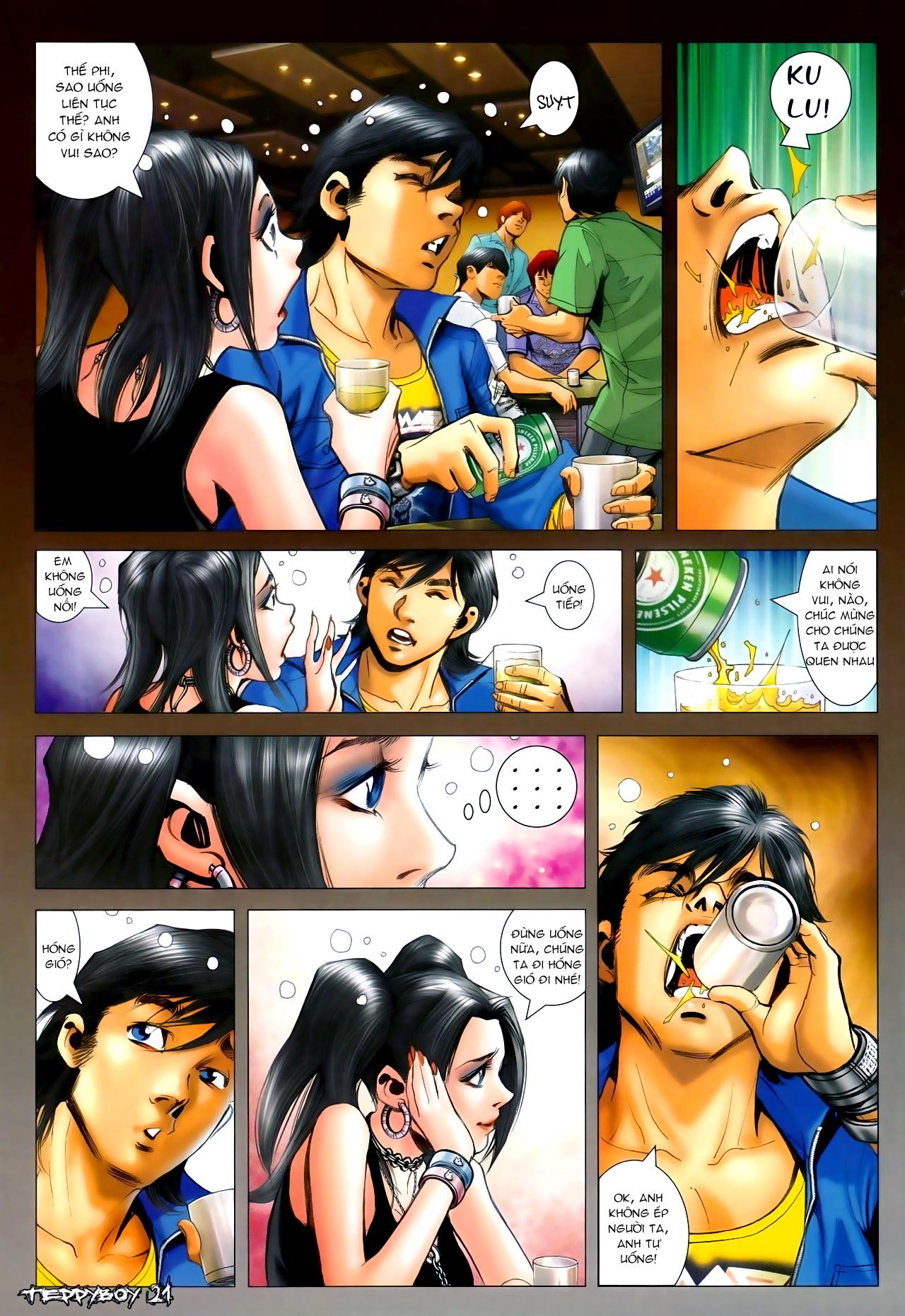 Người Trong Giang Hồ - Chapter 1295: Yêu không được Buông không xong - Pic 16