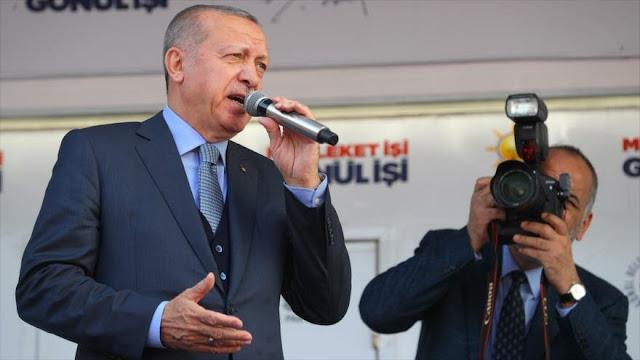 """Erdogan rechaza acusaciones de """"ocupación"""" del hijo de Netanyahu"""