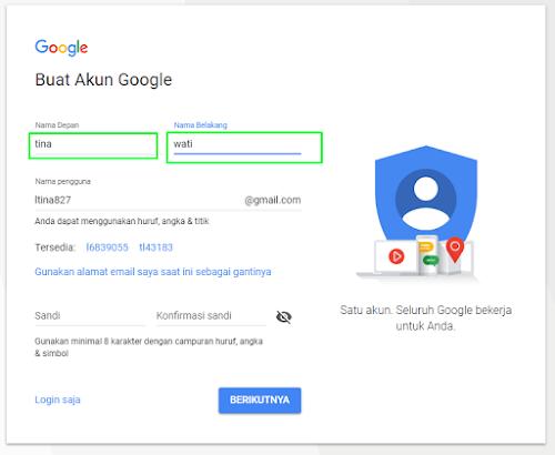 Cara Membuat Account Gmail Baru