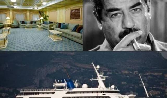يخت صدام حسين !! معلومات وتفاصيل صادمة  ستسمعها لأول مرة عن ماذا كان يحدث في هذا اليخت!