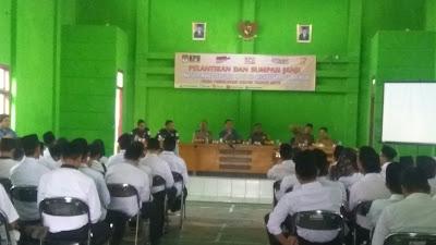 KPU Kabupaten Tangerang Lantik Jajaran PPS Se Kecamatan Rajeg dan Mauk