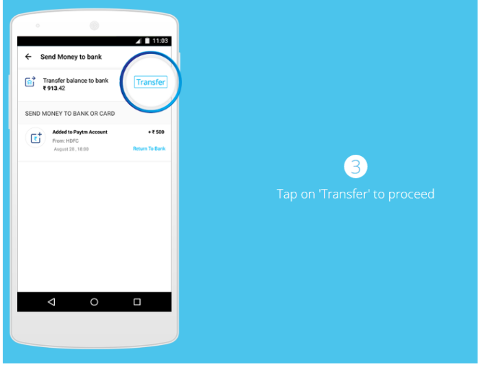How to Transfer Money from Paytm to Bank Account without