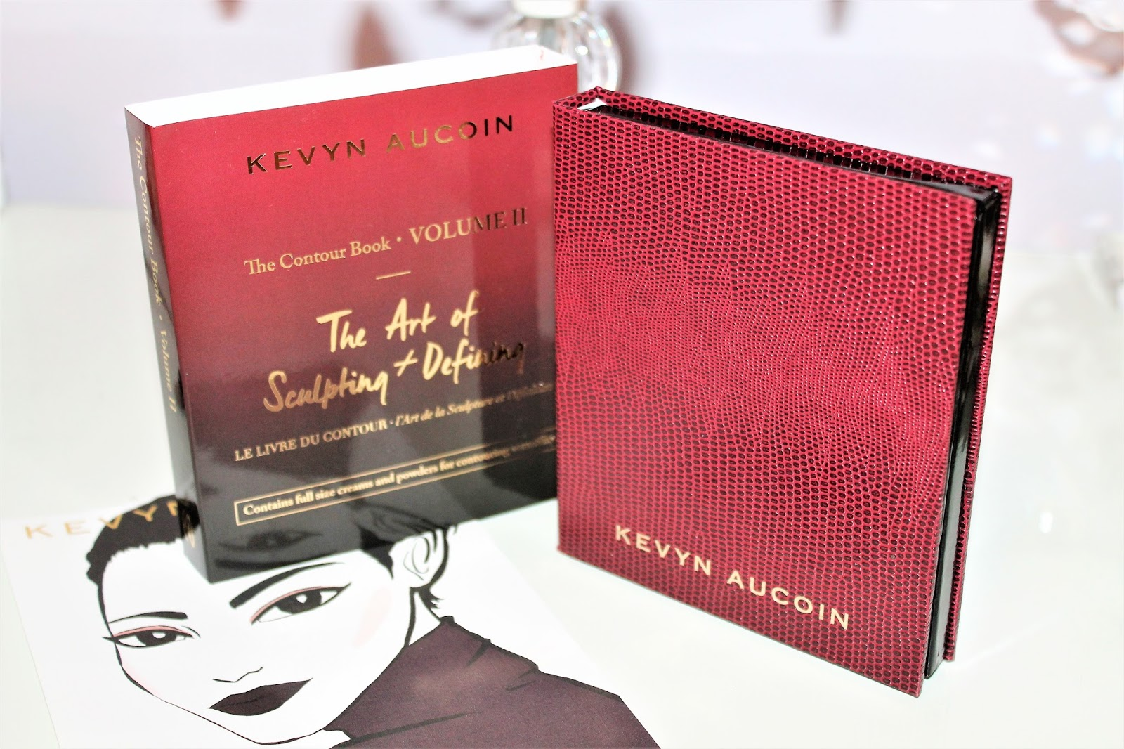 I Was Sent The Kevyn Aucoin The Contour Book + The Art Of Sculpting &  Defining Volume Ii, And Contour Brush, Both Sephora Exclusives