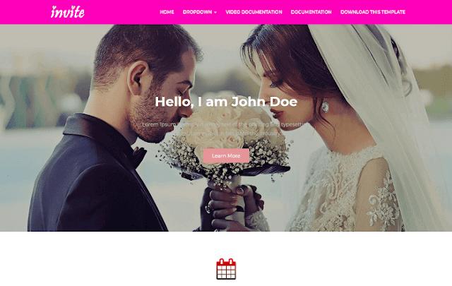 Invite Blogger teması