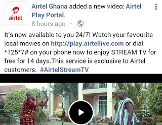 Airtel free live streaming offer
