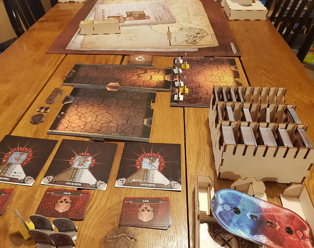Gloomhaven starting setup