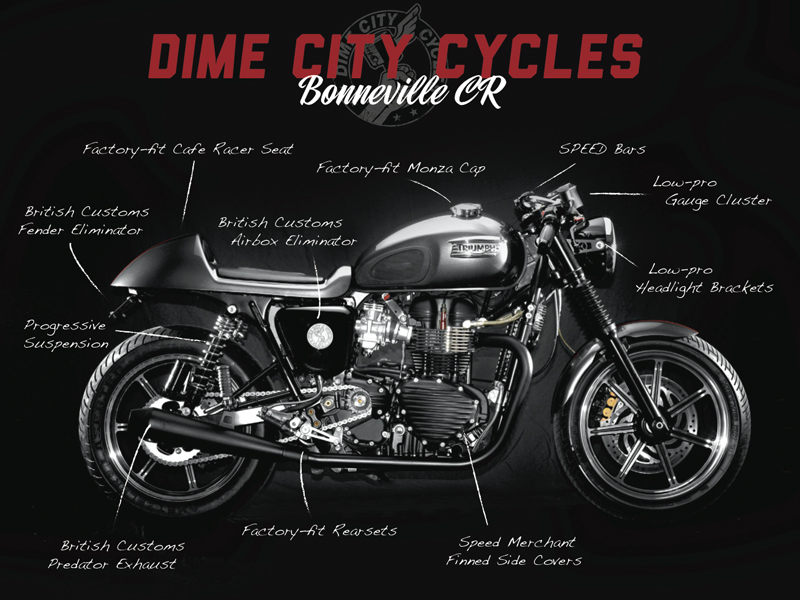 Reno Divorce and Triumph Motorcycles Roll Together - Rusty