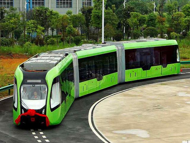 O Trem Autônomo de Trânsito Rápido poderá virar nas esquinas