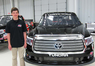 Harrison Burton to Make Truck Series Debut in Fall Martinsville Race #nascar