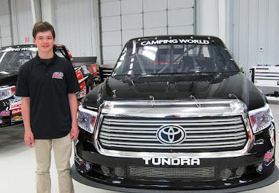 Harrison Burton to Make Truck Series Debut in Fall Martinsville Race #nascar